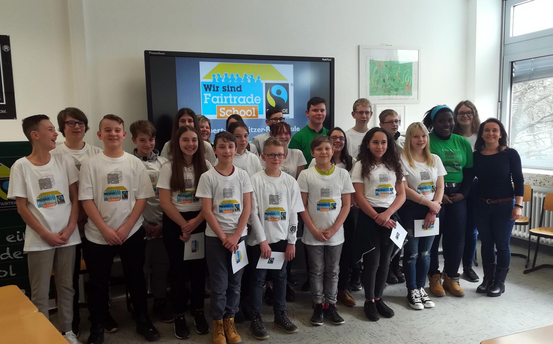 """Die ASRS ist nun """"Fairtrade School"""" !!"""