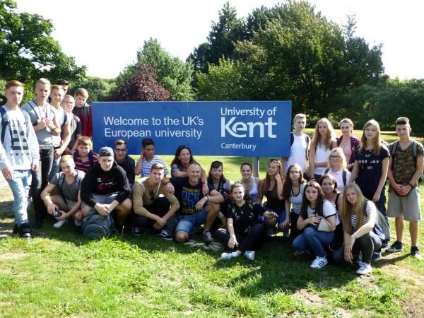 Abschlussfahrt der Klassen 10 b und 10 d nach Canterbury