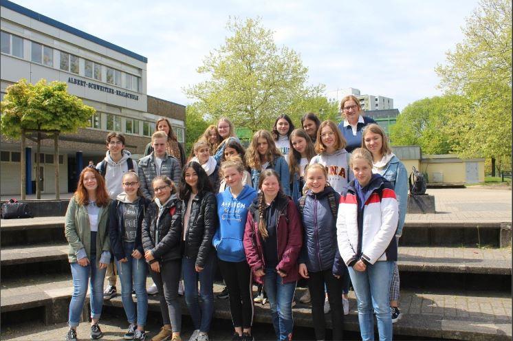 Französische Gastschüler entdecken das Bergische Land