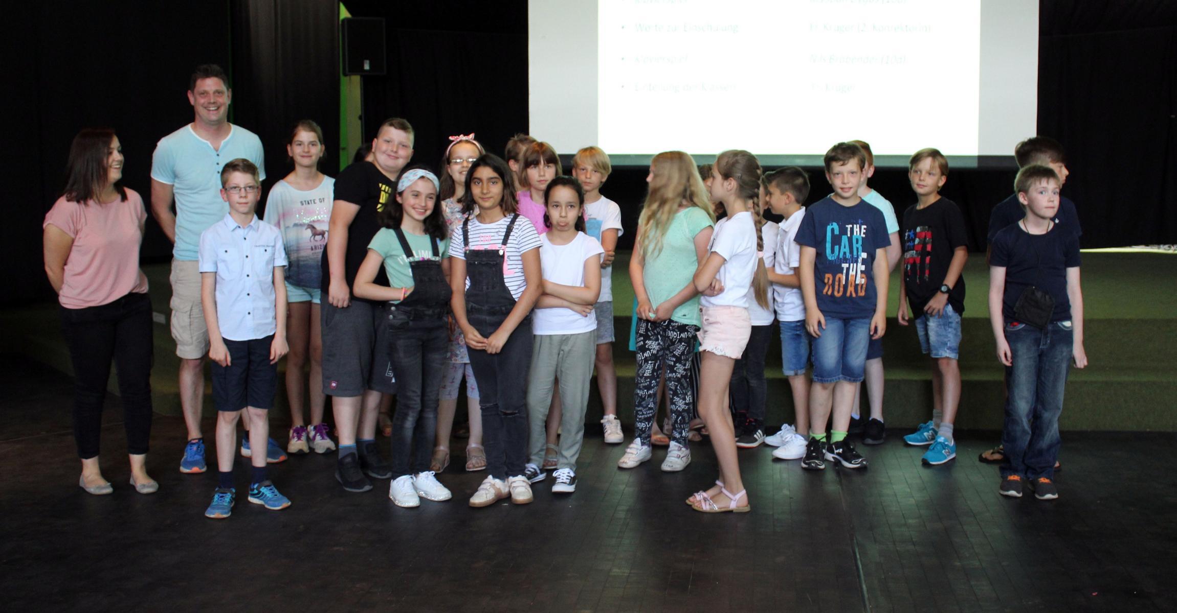 Empfang unserer neuen 5. Klassen. Herzlich willkommen an der ASRS !!