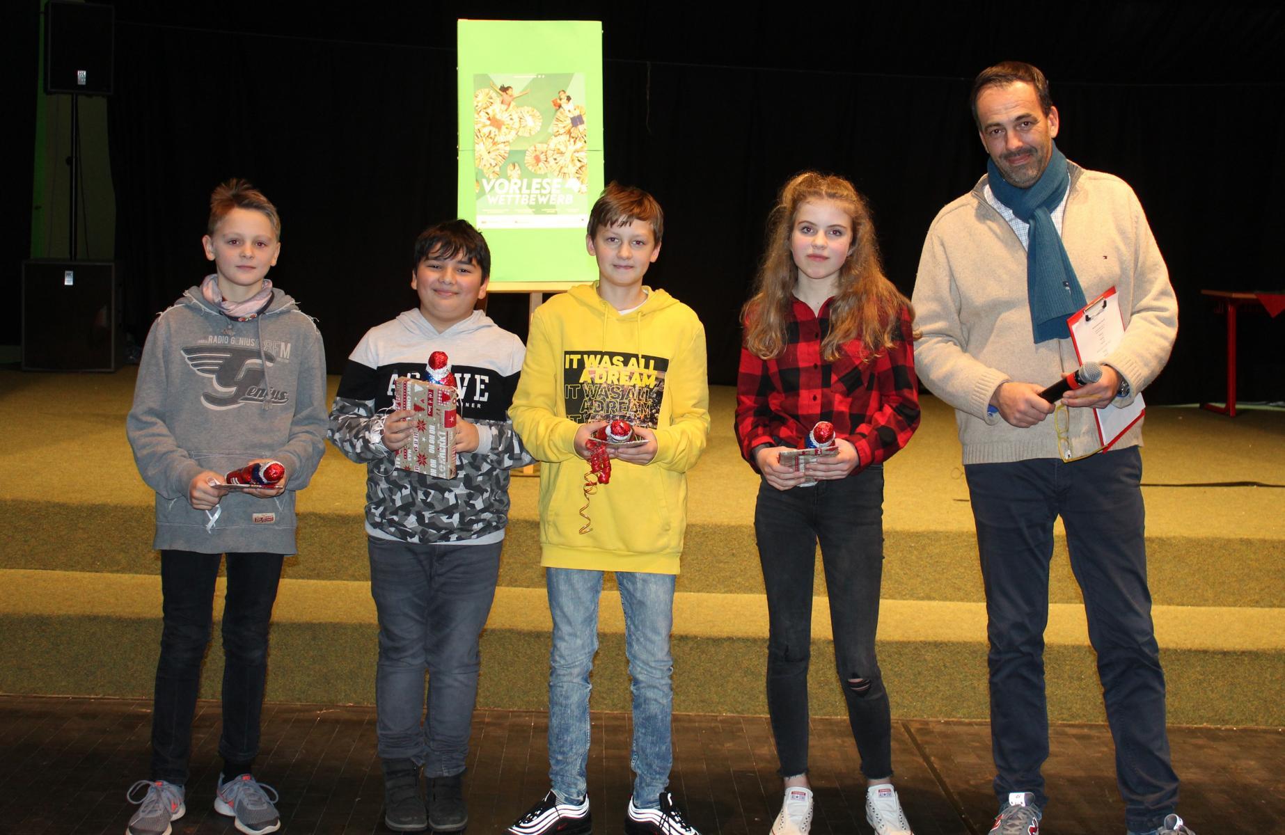 Vorlesewettbewerb der ASRS: Baturay Cankilic wird Schulsieger 2019 !!