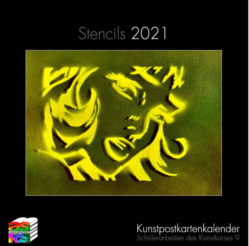 Verkauf des Kunstpostkartenkalenders 2021 des Kunstkurses 9 startet ab Montag, den 07.12.2020!