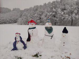 Jury prämiert die schönsten Schneemänner unseres Wettbewerbes !!