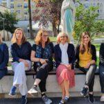 BILL – Planungsteam des Frankreich-Austauschs 2022 besucht unsere französische Partnerschule in Asnières-sur-Seine.